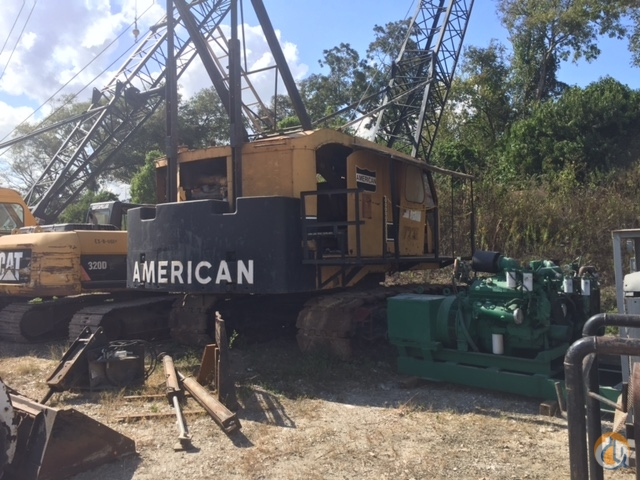 Sold AMERICAN 7220 CRAWLER CRANE Crane for  in Houston Texas on CraneNetworkcom