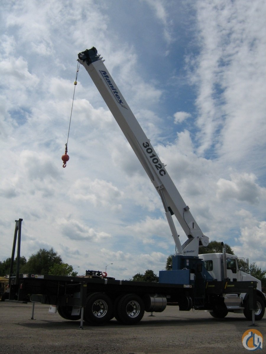 2018 MANITEX 30102C OD Crane for Sale or Rent in Oakville Ontario on CraneNetwork.com