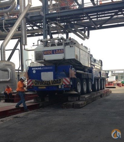 500 TON DEMAG Crane for Sale on CraneNetwork.com