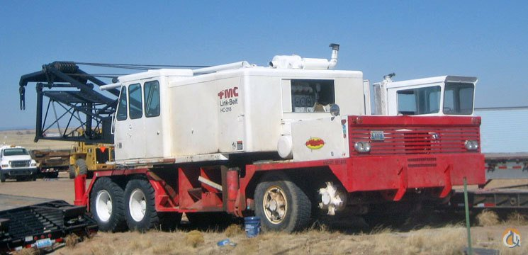 Sold Link-Belt Speeder HC-218 for Sale Crane for  on CraneNetwork.com