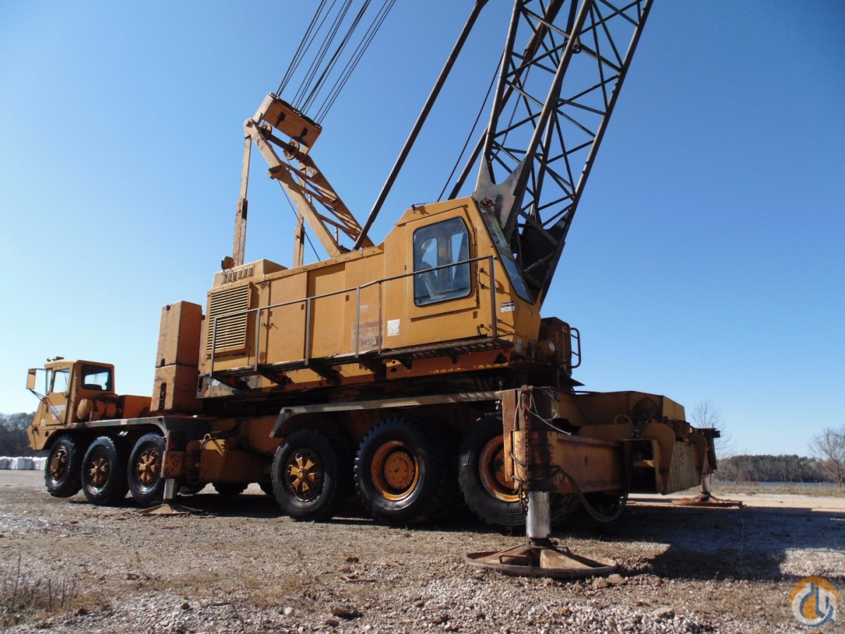 Sold American 8450 150-Ton Truck Crane at Port in North Mississippi selling  online no reserve ...