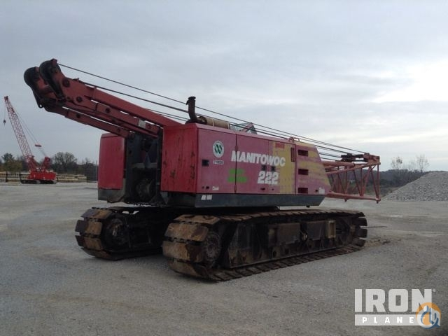 Sold 1998 Manitowoc 222 Lattice-Boom Crawler Crane Crane for  in OFallon Missouri on CraneNetwork.com