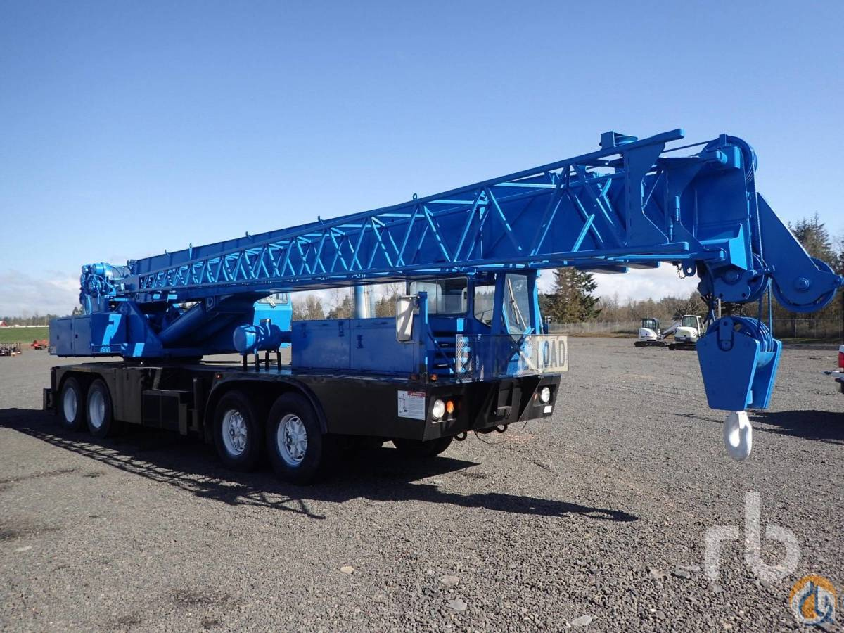 Sold 1975 GROVE TMS475LP 50 Ton 8x4x4 Hydraulic Truck Crane Crane for  in Chehalis Washington on CraneNetworkcom