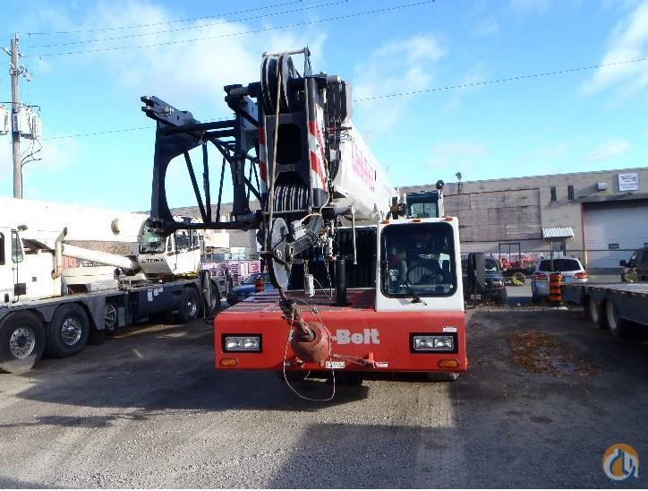 Sold 2013 Link-Belt HTC-86100 Crane for  in Burlington Ontario on CraneNetwork.com