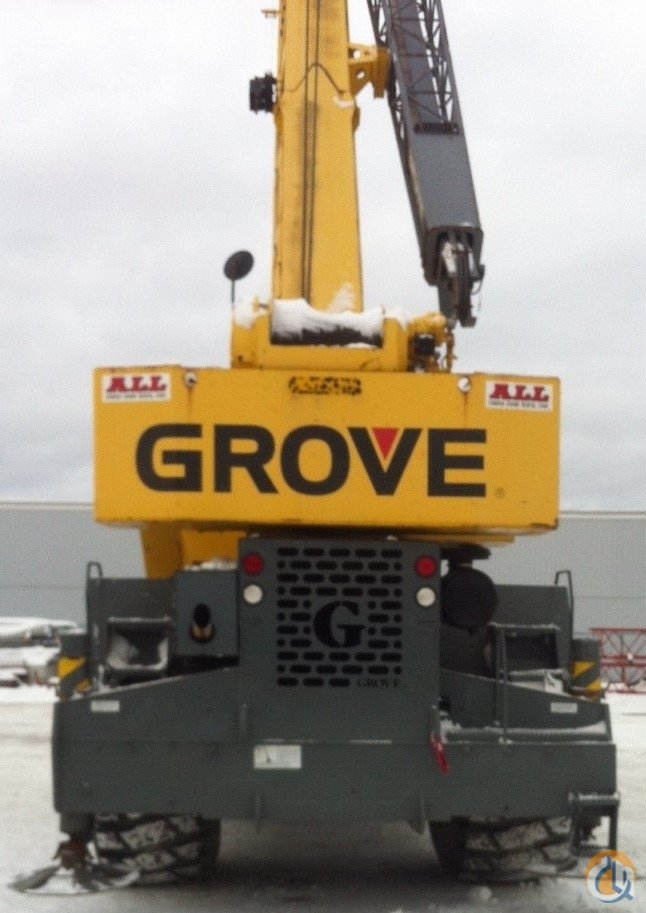 Grove RT875 For Sale Crane for Sale in Halifax Regional Municipality Nova Scotia on CraneNetwork.com
