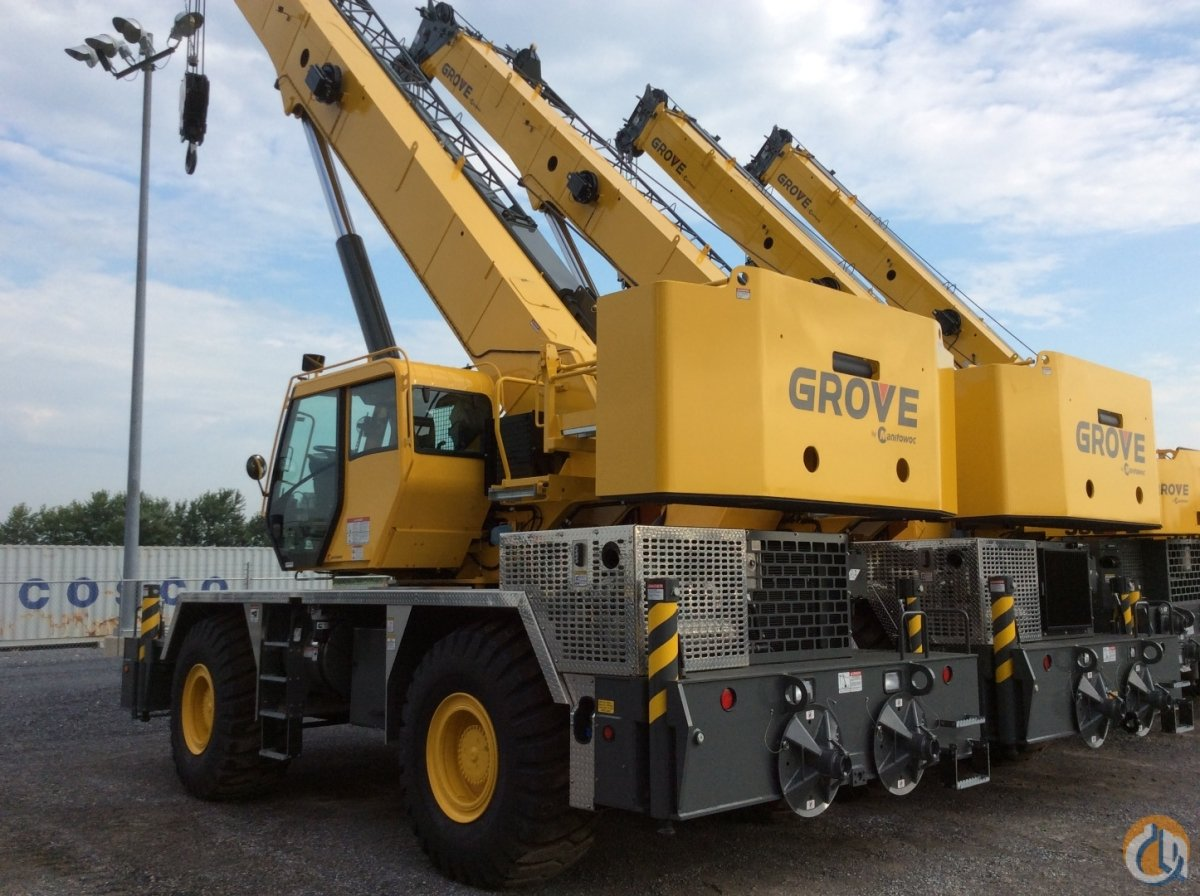 Sold 2017 Grove RT600E Crane for  in Cleveland Ohio on CraneNetwork.com