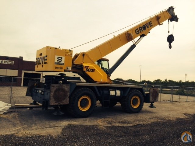 2007 GROVE RT650E Crane for Sale in Rockford Illinois on CraneNetwork.com