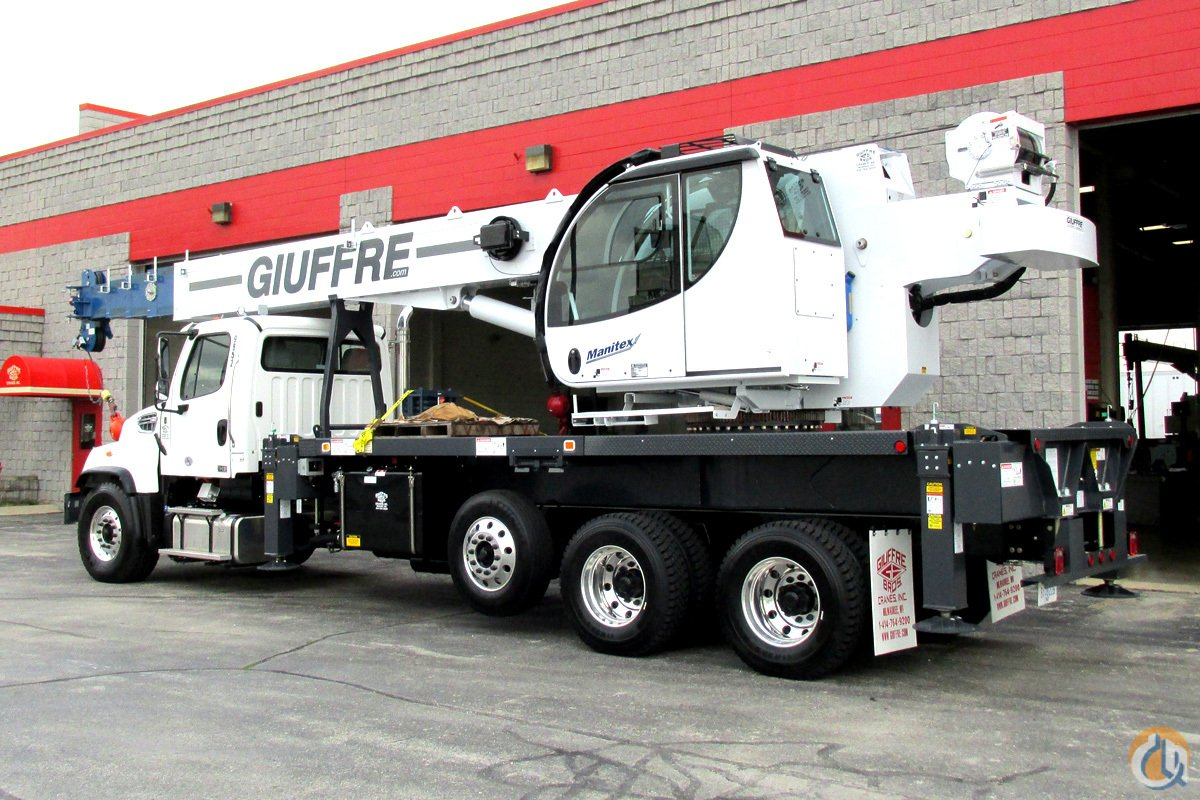 Sold New 40 Ton Manitex On Freightliner 114sd Tandem W