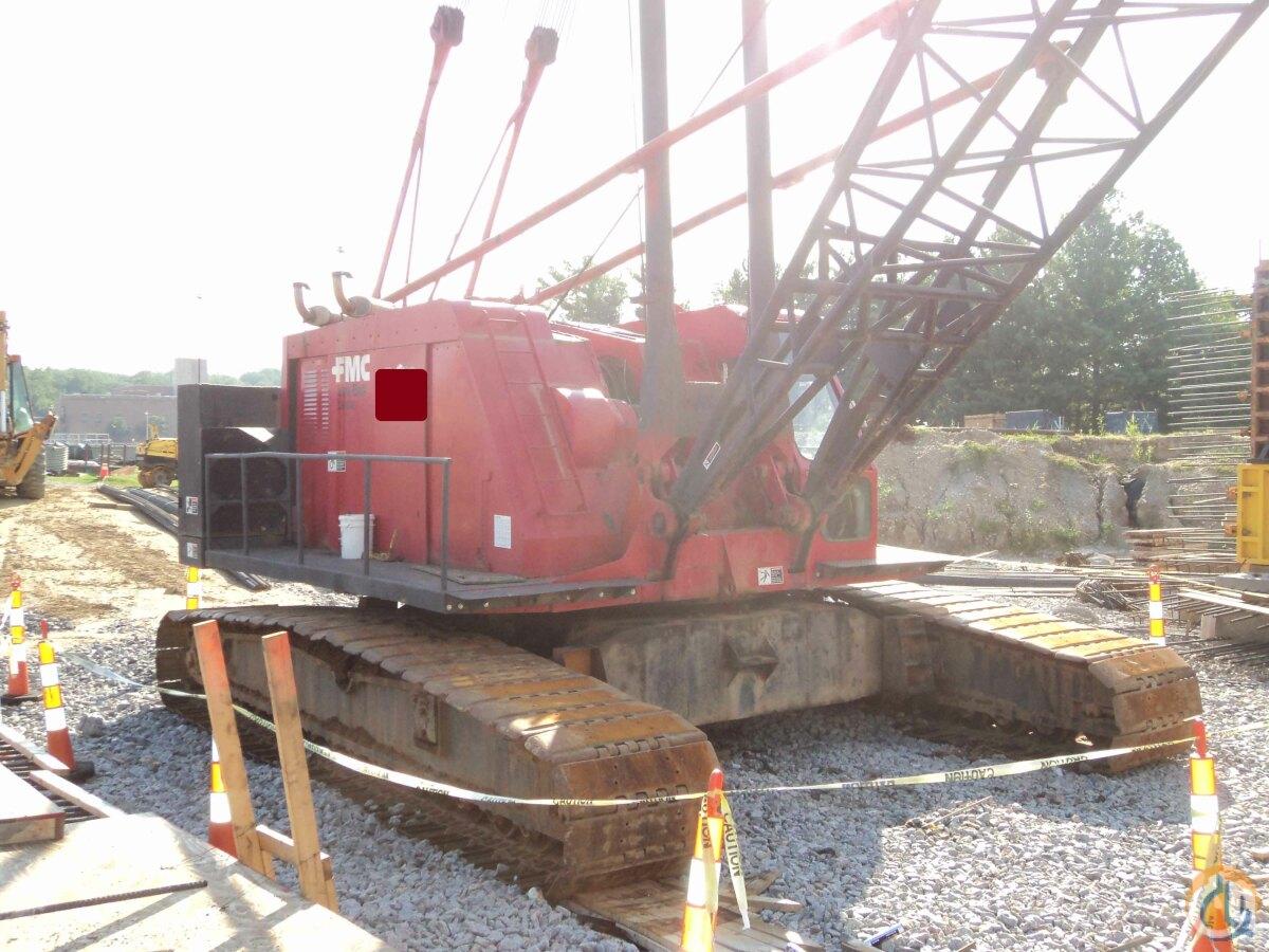 Link Belt Crawler Cranes : Sold link belt ton crawler crane for on cranenetwork
