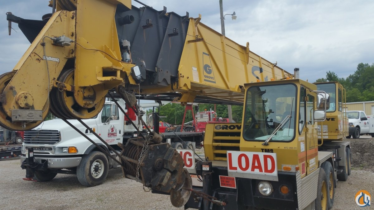1990 GROVE TMS475 Crane for Sale in Owensboro Kentucky on CraneNetwork.com