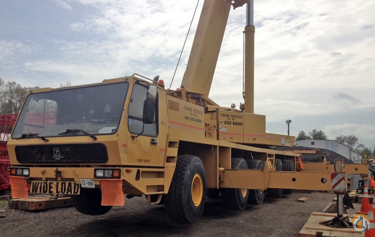 1997 GROVE GMK5150B Crane for Sale or Rent in Upper Marlboro Maryland on CraneNetwork.com