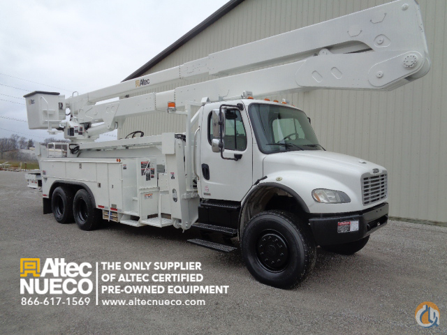 2007 Altec A77-TE93 Crane for Sale in Fort Wayne Indiana on CraneNetworkcom