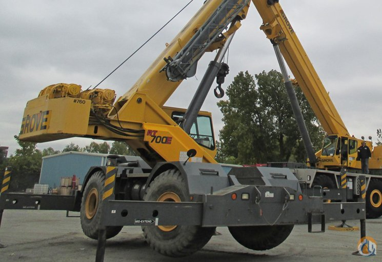 2003 Grove RT760E Crane for Sale in Riverdale Illinois on CraneNetwork.com