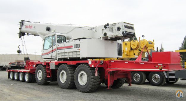 2006 Link-Belt RTC-80100 SII Rough Terrain CBJ573 Crane for Sale on CraneNetwork.com