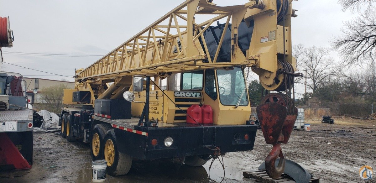Sold 35 Grove TMS300 Hydraulic Truck crane Crane for  in Conway Arkansas on CraneNetwork.com