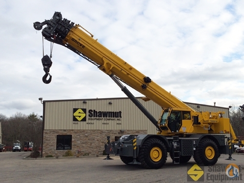 2014 Grove RT890E Crane for Sale in Elmsdale Nova Scotia on CraneNetwork.com