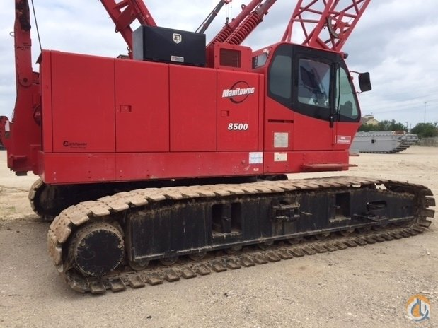 2007 MANITOWOC 8500 Crane for Sale or Rent in Houston Texas on CraneNetworkcom