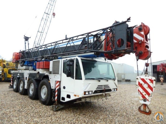 Terex-Demag AC 80-2 All Terrain Cranes Crane for Sale 2004 Terex-Demag AC 80-2 in Antwerp  Flanders  Belgium 218670 CraneNetwork