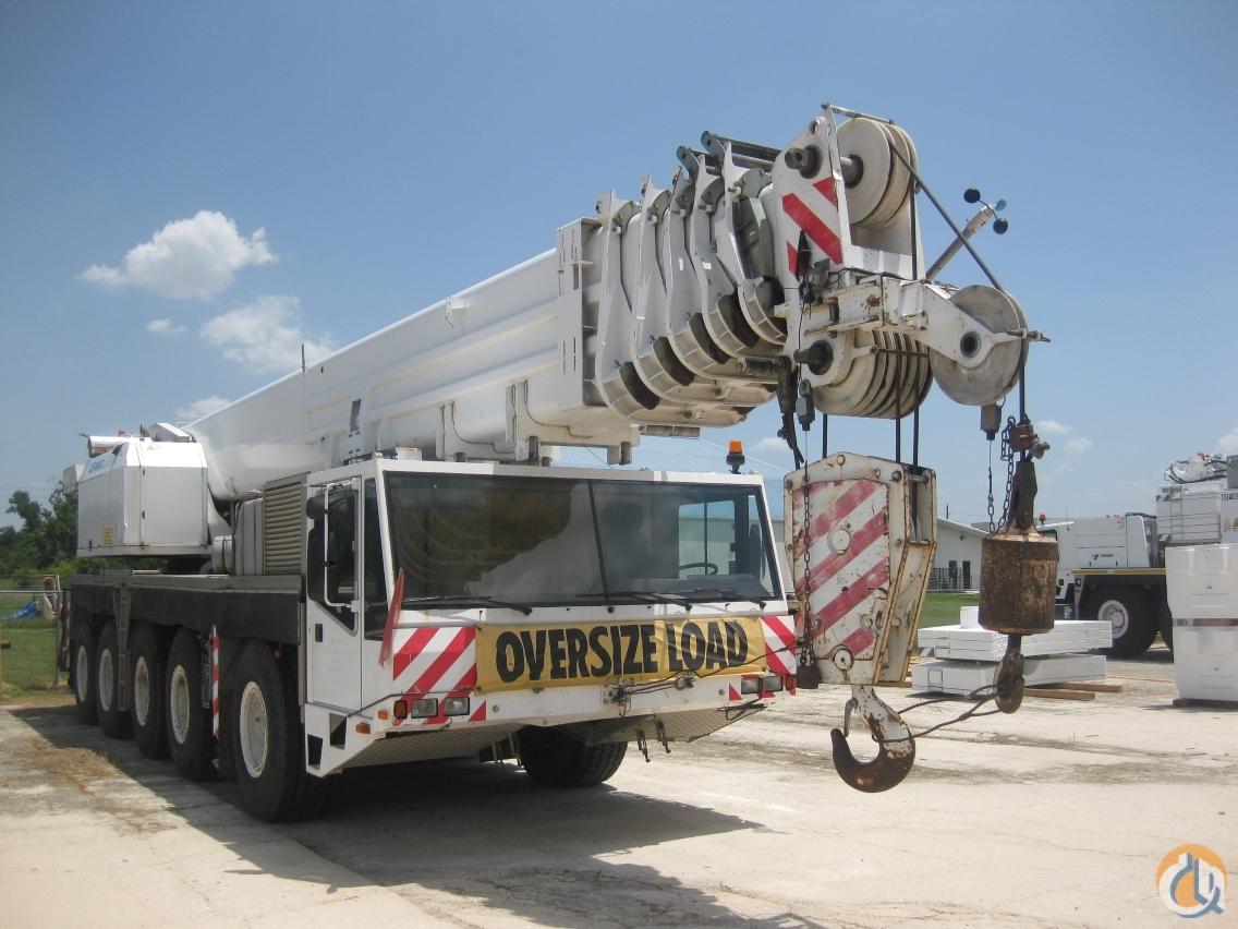 Used Jib Cranes Houston : Sold demag ac ton boom jib crane