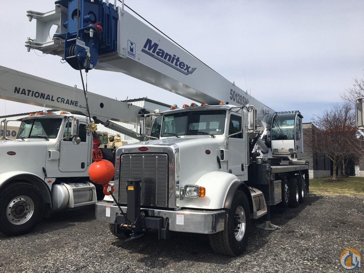 2019 MANITEX 50128SHL Crane for Sale in Holbrook Massachusetts on CraneNetwork.com