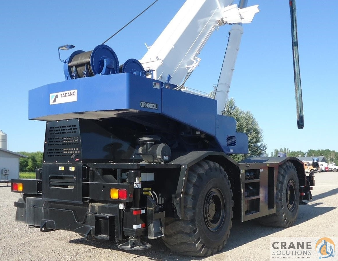 2009 Tadano GR600XL Crane for Sale in Savannah Georgia on CraneNetwork.com