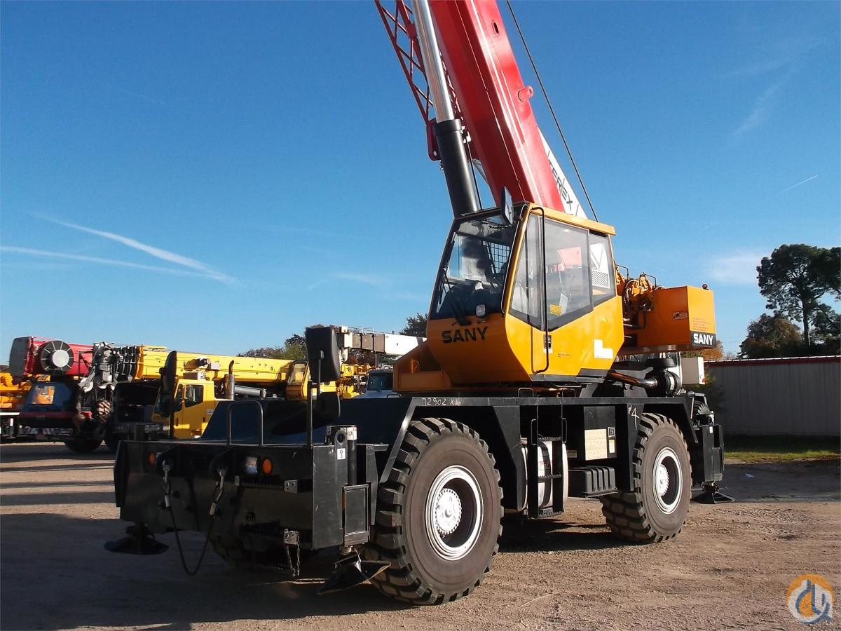 2013 SANY SRC840 Crane for Sale in Lewisville Texas on CraneNetwork.com