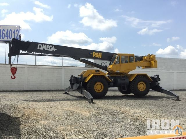 1979 P  H Omega 40 Rough Terrain Crane Crane for Sale in Silao Guanajuato on CraneNetwork.com