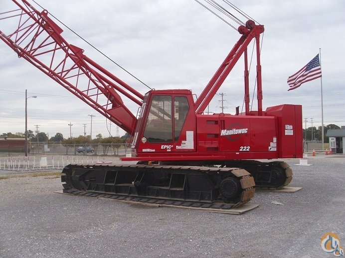 Sold 2001 Manitowc 222 Series B Crane for  in Memphis Tennessee on CraneNetwork.com
