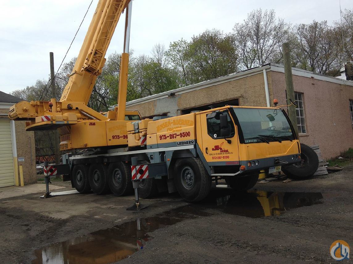 Sold 2007 LIEBHERR LTM 1095-5.1 Crane for  in Frenchtown New Jersey on CraneNetwork.com