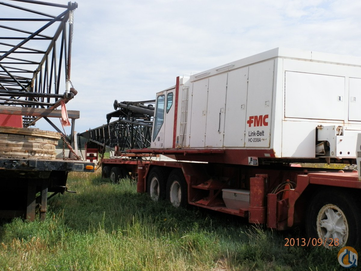 Sold Link-Belt HC-238B - 185000 Crane for  in Elbert Colorado on CraneNetwork.com