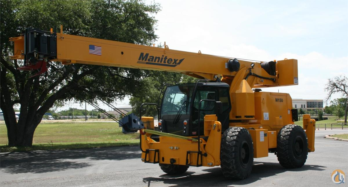 2015 MANITEX M150 Crane for Sale or Rent in Bridgeview Illinois on CraneNetworkcom