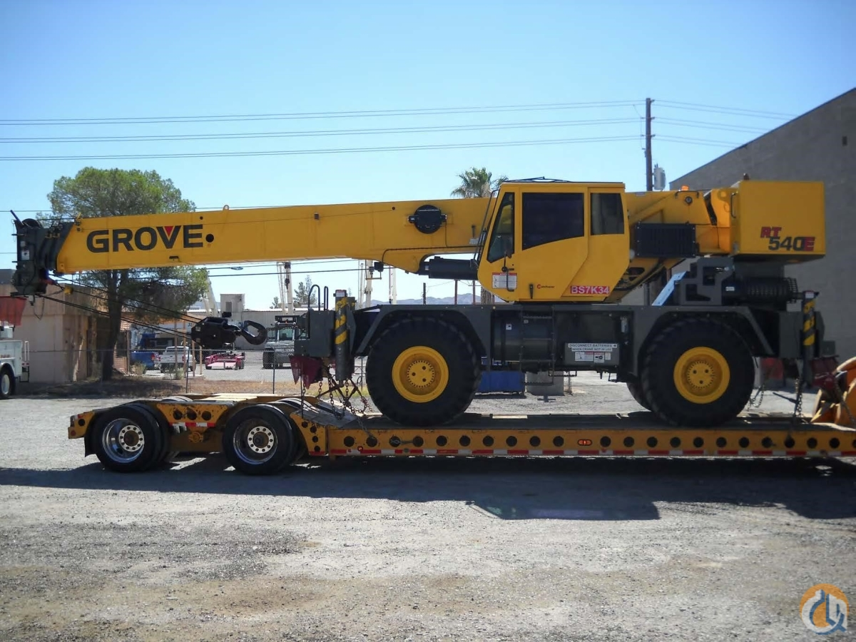 2009 GROVE RT540E Crane for Sale or Rent in Las Vegas ...
