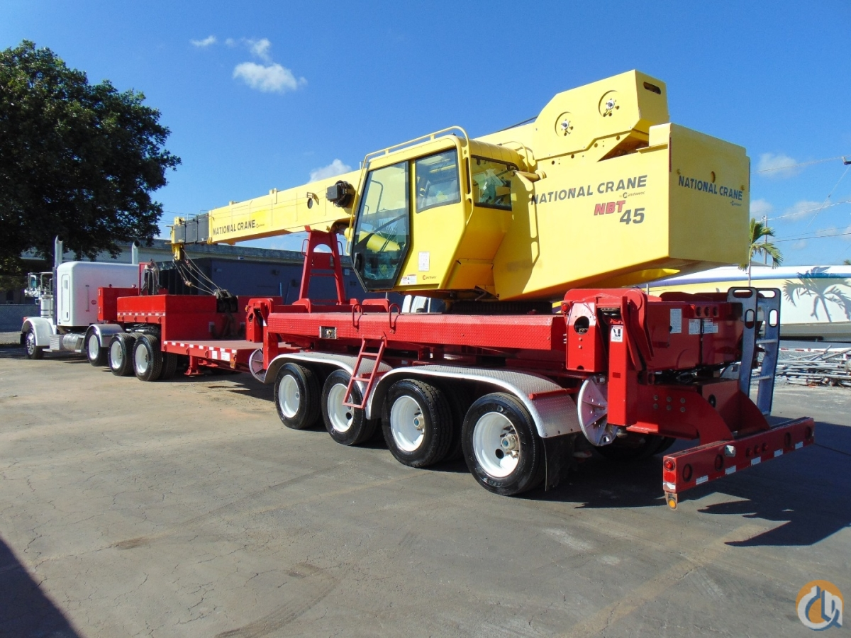 PETERBILT 367  NATIONAL NBT 45 Crane for Sale in Fort Lauderdale Florida on CraneNetwork.com
