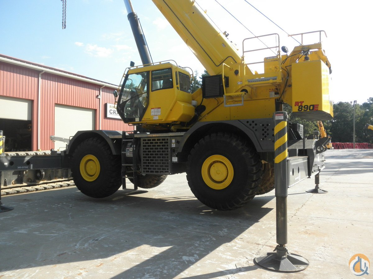 2014 GROVE RT890E Crane for Sale in Saint Augustine Florida on CraneNetworkcom