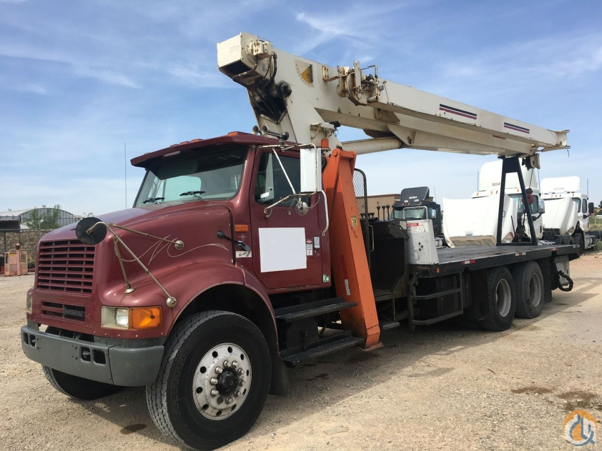 2000 TEREX BT4792 Crane for Sale in El Paso Texas on CraneNetwork.com