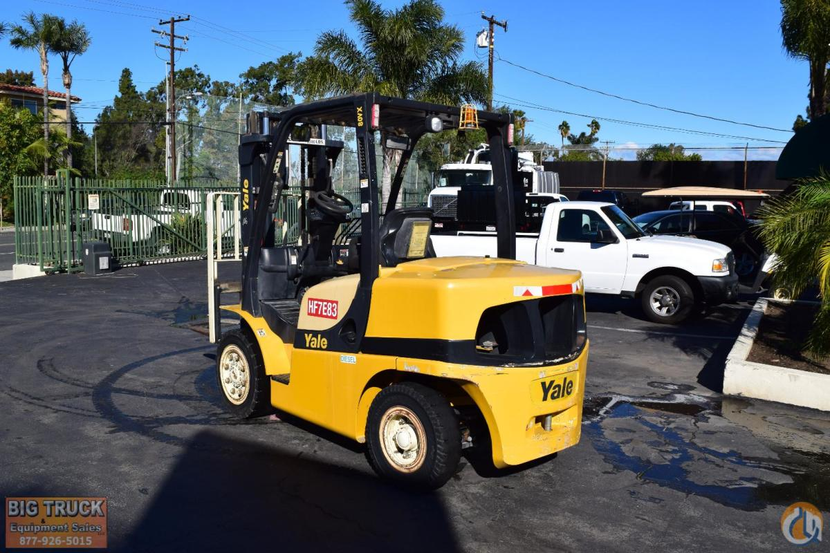 2008 YALE GDP080VX Crane for Sale in Norwalk California on CraneNetworkcom