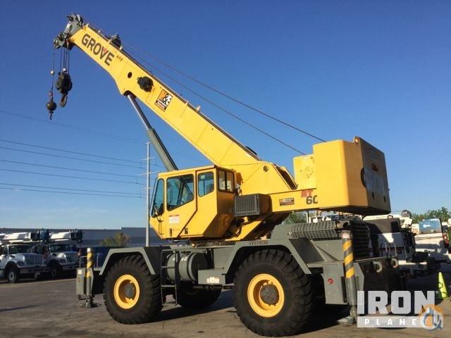 Sold 2008 Grove RT650E Rough Terrain Crane Crane for  in Grand Prairie Texas on CraneNetwork.com