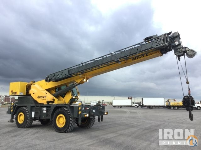2013 Grove RT540E Rough Terrain Crane Crane for Sale in Lake Worth Texas on CraneNetwork.com
