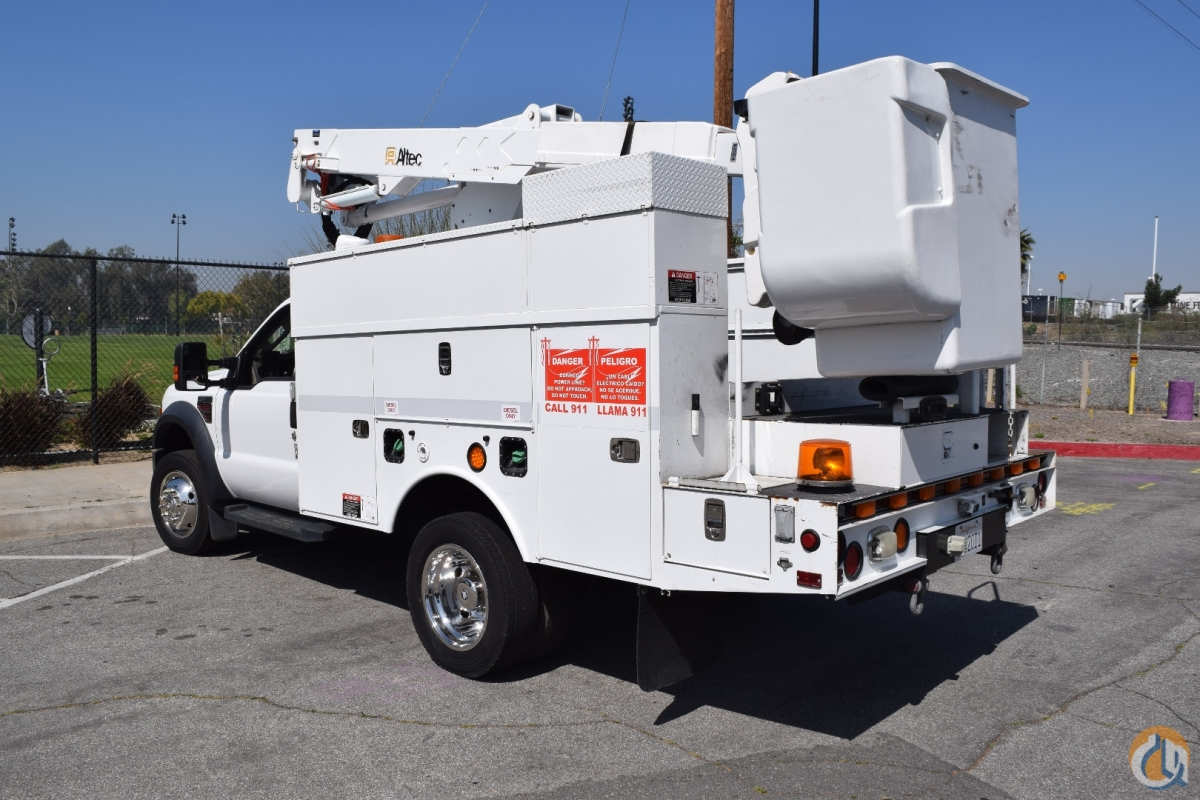 2009 Ford F550 Altec AT37-G 42 Bucket Truck Crane for Sale in Norwalk California on CraneNetwork.com