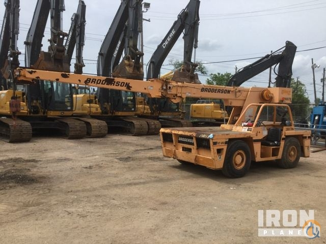 Sold 1999 Broderson IC-80-1F Carry Deck Crane Crane for  in Houston Texas on CraneNetwork.com