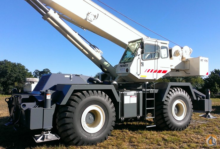 sold 1999 terex rt175 75 ton crane certified crane for on rh cranenetwork com White Crane RT RT Crane