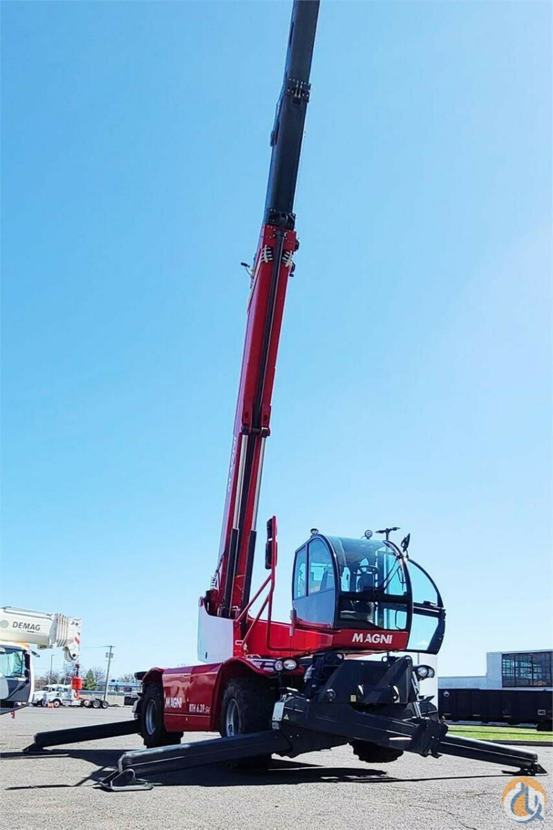 2019 MAGNI RTH6.39SH Crane for Sale or Rent in Bridgewater Township New Jersey on CraneNetwork.com