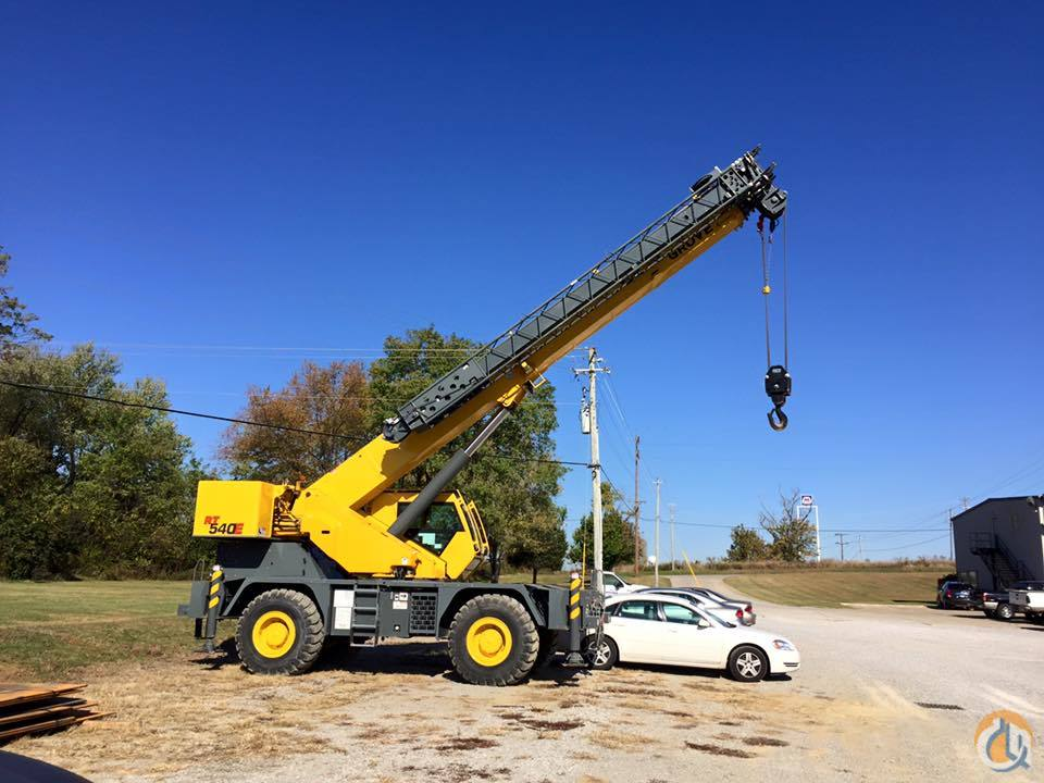 Grove RT540E Rough Terrain Cranes Crane for Sale 2012 Grove RT540E  in Walton  Kentucky  United States 207489 CraneNetwork