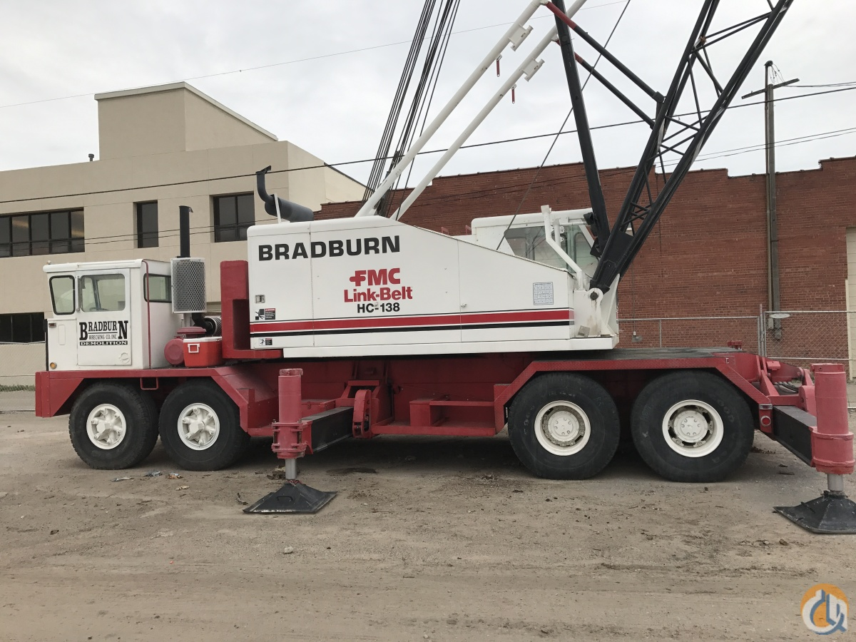 1971 Link-Belt HC138 65 Ton Truck Crane Crane for Sale in Wichita Kansas on CraneNetwork.com