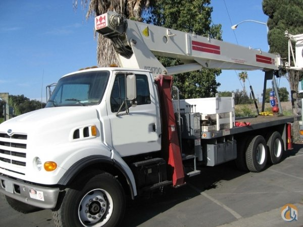 2000 Terex BT4792 23.5 Ton Boom Truck Crane Crane for Sale on CraneNetwork.com