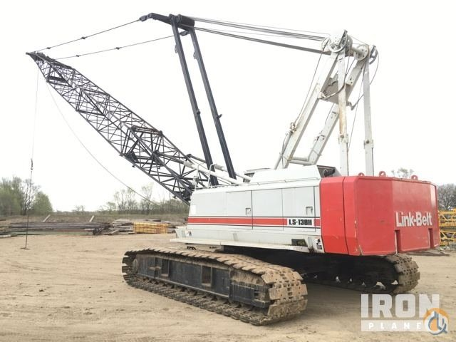 Sold 1989 unverified Link-Belt LS-138H Lattice-Boom Crawler Crane Crane for  in Correctionville Iowa on CraneNetwork.com