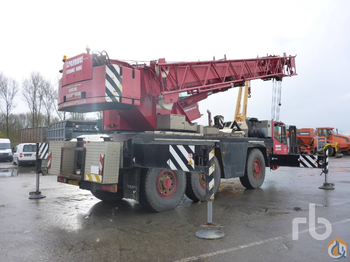 Sold 2006 TEREX-DEMAG AC50-1 50 Ton 6x6x6 All Terrain Crane Crane for  in Moerdijk North Brabant on CraneNetworkcom