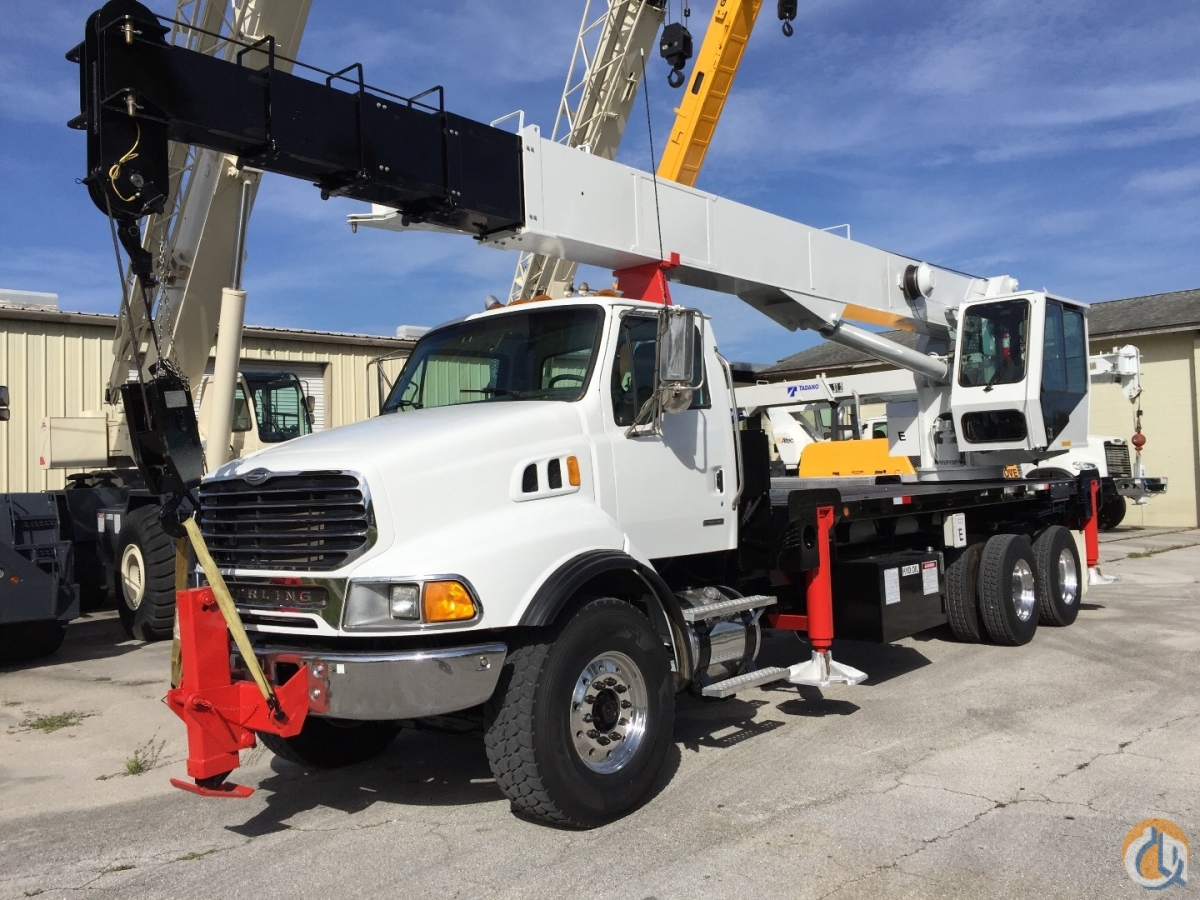 2006 Sterling 32 TON ELLIOT 117 24 C9 CAT Crane for Sale in Fort Pierce Florida on CraneNetwork.com