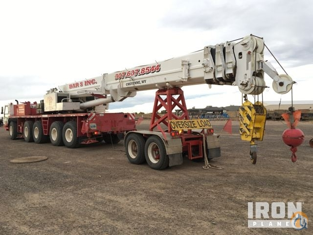 Grove GMK5110 All Terrain Cranes Crane for Sale 1996 Grove GMK5110 All Terrain Crane in Cheyenne  Wyoming  United States 219035 CraneNetwork