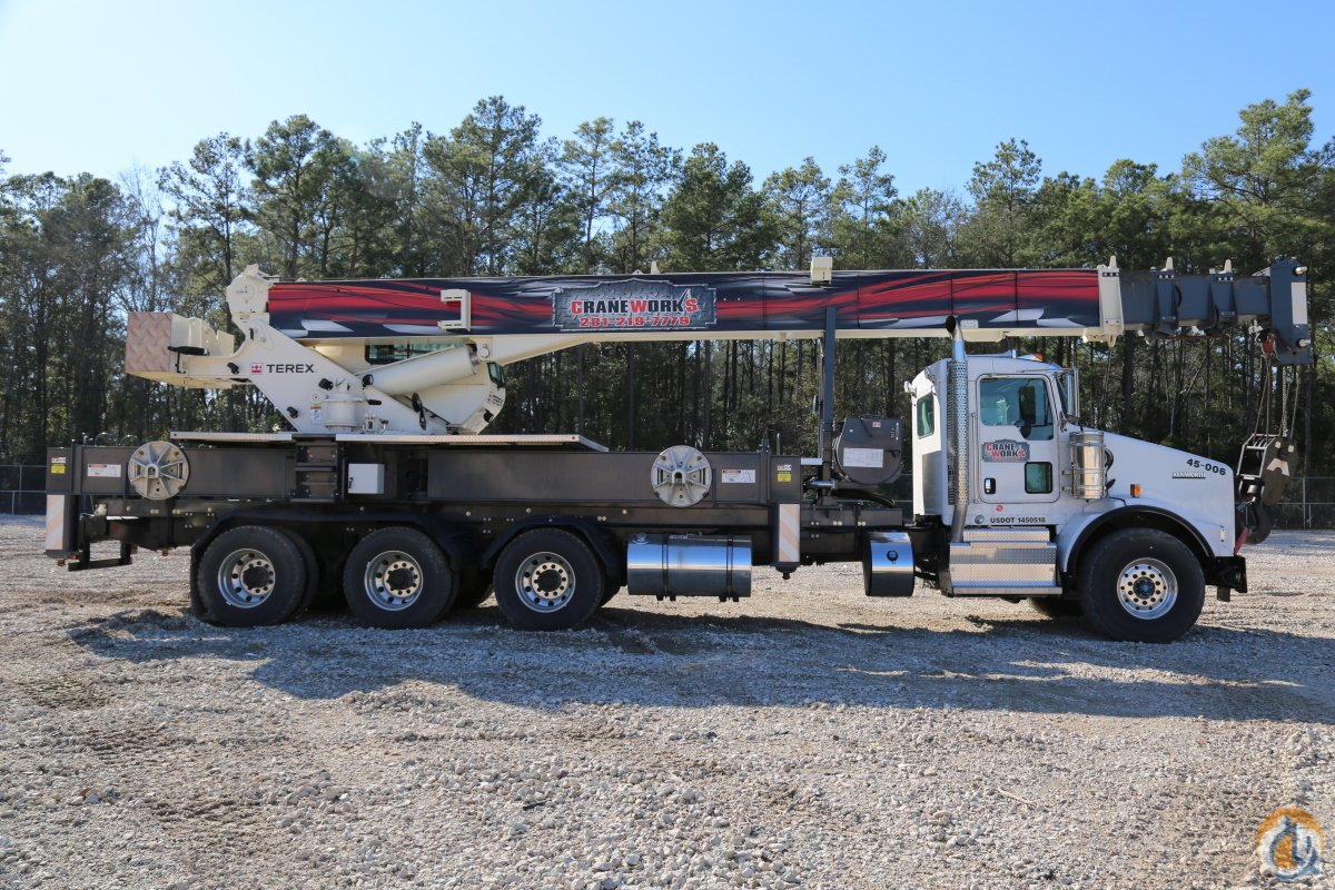 Sold Terex Crossover 4500 Boom Truck Crane for in Houston Texas on